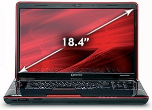 Toshiba Qosmio X505-Q894 Quad Core i7, Blu-ray, 1.5GB GeForce 460M