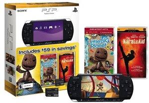 PSP-3000 Bundle w/ Little Big Planet, Karate Kid, 1GB Memory Stick