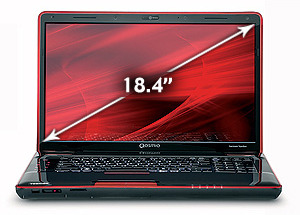 Toshiba Qosmio X505-Q896 Core i7, 1.5GB GeForce 460M, 1080p, Blu-ray