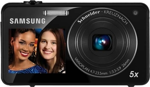 Samsung DualView ST700 16 MP Digital Camera (Refurbished)