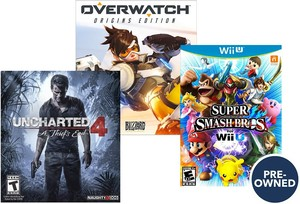 Best Buy Pre-Owned Game Sale: Buy 2 Get 1 Free