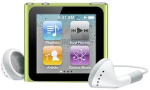 Apple iPod nano 8GB Multi-touch (6th gen) - Green
