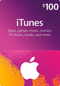 Apple App Store & iTunes $100 Gift Code(Email Delivery)