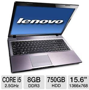 Lenovo IdeaPad Z570 1024XG3 Core i5-2450M, 8GB RAM (Refurbished)