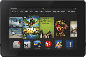 "Amazon Kindle Fire HD 7"" 8GB WiFi Tablet (Refurbished)"