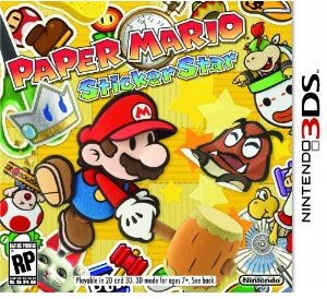 Paper Mario: Sticker Star (Nintendo 3DS)