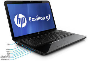 HP Pavilion G7-2017CL AMD A6-4400M, Radeon HD 7520G, 4GB RAM (Refurbished)