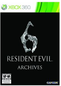Resident Evil 6 Archives Edition (Xbox 360)