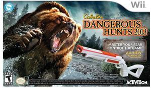 Cabela's Dangerous Hunts 2013 with 2 Guns (Wii)