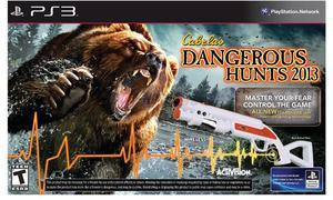 Cabela's Dangerous Hunts 2013 with Gun (PS3)