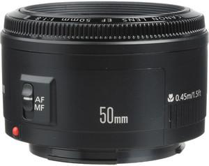 Canon EF 50mm f/1.8 STM Lens (Refurbished)