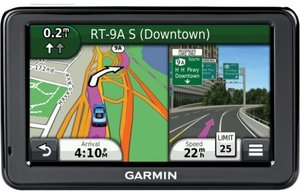 Garmin nuvi 2455LMT GPS with Lifetime Map and Traffic Updates (Refurbished)