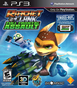 Ratchet & Clank: Full Frontal Assault (PS3) - Pre-owned