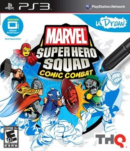 Marvel Super Hero Squad: Comic Combat - uDraw (PS3)