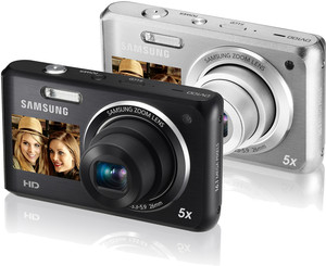 Samsung DV101 16MP WiFi Dualview Digital Camera