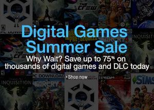 "Amazon ""Digital Games Summer"" Sale: PC and Mac downloads"