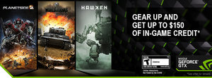 NVIDIA Free 2 Play Bundle: Buy a video card, get $75 - $150 of in-game credit for free-2-play games