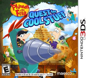 Phineas and Ferb Quest for Cool Stuff (Nintendo 3DS) - Pre-owned