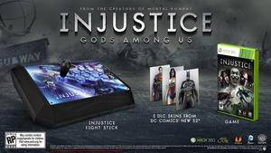 Injustice: Gods Among Us Battle Edition with Fight Stick (Xbox 360)