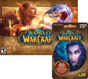 World of Warcraft (Burning Crusade, Wrath of Lich King, Cataclysm) + 2-Month Card (PC/Mac)