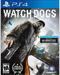 Watch Dogs (PS4 Download) - PS Plus Required