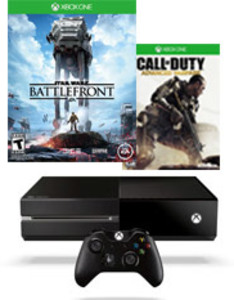 Xbox One 500GB Console (Refurbished) + Free 3 Games