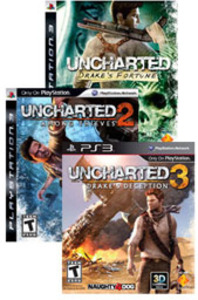 Uncharted Game Bundle (Pre-owned)