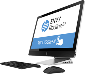 HP Envy Recline 27 TouchSmart All-in-One, Core i7-4765T, GeForce GT 730A, 12GB RAM, 16GB SSD (Refurbished)