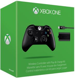 Xbox One Wireless Controller, Play & Charge Kit