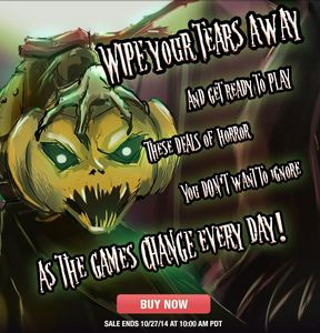 Gamefly Sale: Halloween Horror Week