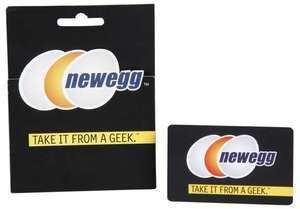 $50 NewEgg eGift Card + $5 Gift Card