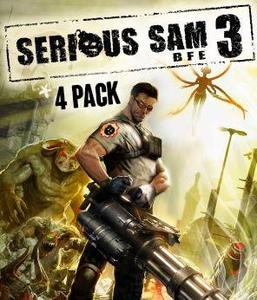 Serious Sam 3 Standard - 4 Pack (PC/Mac Download)