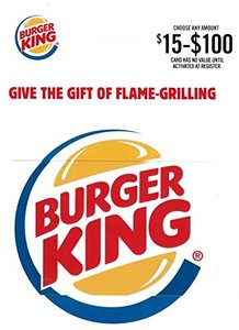 $50 Burger King Gift Card