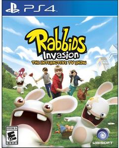 Rabbids Invasion: The Interactive TV Show (PS4) - Pre-owned