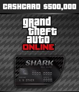 Bull Shark Cash Card ($500,000 - PC)
