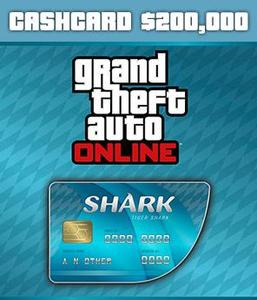 Tiger Shark Cash Card ($200,000 - PC)