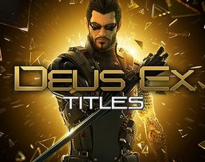 Green Man Gaming Sale: Deus Ex Titles