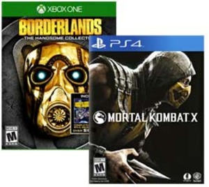 Best Buy: $45 Off Two Select Xbox One or PS4 Games