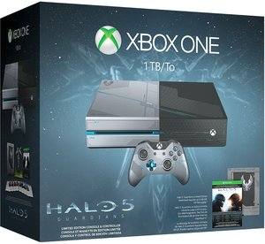 Xbox One Limited Edition Halo 5: Guardians 1TB Bundle