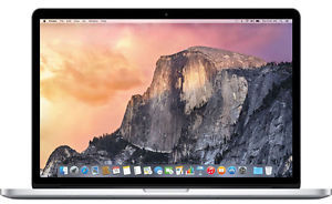 Apple MacBook Pro MJLT2LL/A Core i7-4870HQ, 16GB RAM, 512GB SSD, Radeon R9 M370X (Refurbished)