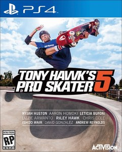 Tony Hawk's Pro Skater 5 (PS4 Download) - PS Plus Required