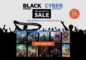 GameFly Black Friday / Cyber Monday Sale