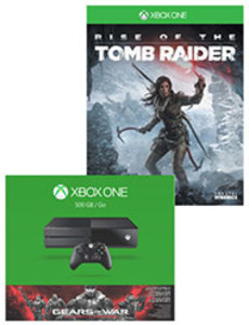 Xbox One Gears of War Bundle + Rise of Tomb Raider