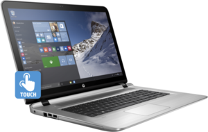 HP Envy 17t Touch Core i7-7500U Kaby Lake, 16GB RAM, 1TB HDD + 128GB SSD, GeForce 940MX