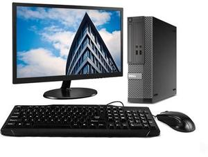 Dell OptiPlex 3020 Small Form Tower, Core i3-4130, 4GB RAM, 500GB HDD (Refurbished) + 22-inch Monitor + Keyboard & Mouse