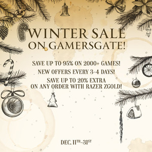 GamersGate Winter Sale