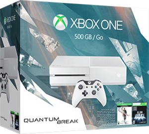 Xbox One Special Edition Quantum Break Bundle + Extra Controller + Free Game