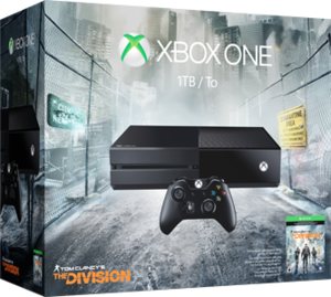 Xbox One 1TB The Division Bundle + Free Game