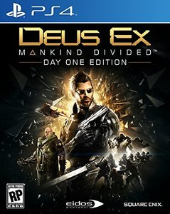 Deus Ex: Mankind Divided (PS4 Download) - PS Plus Required