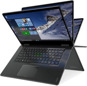 Lenovo Yoga 710 80U00006US Core i5-6200U, 8GB RAM, 256GB SSD, Full HD IPS 1080p